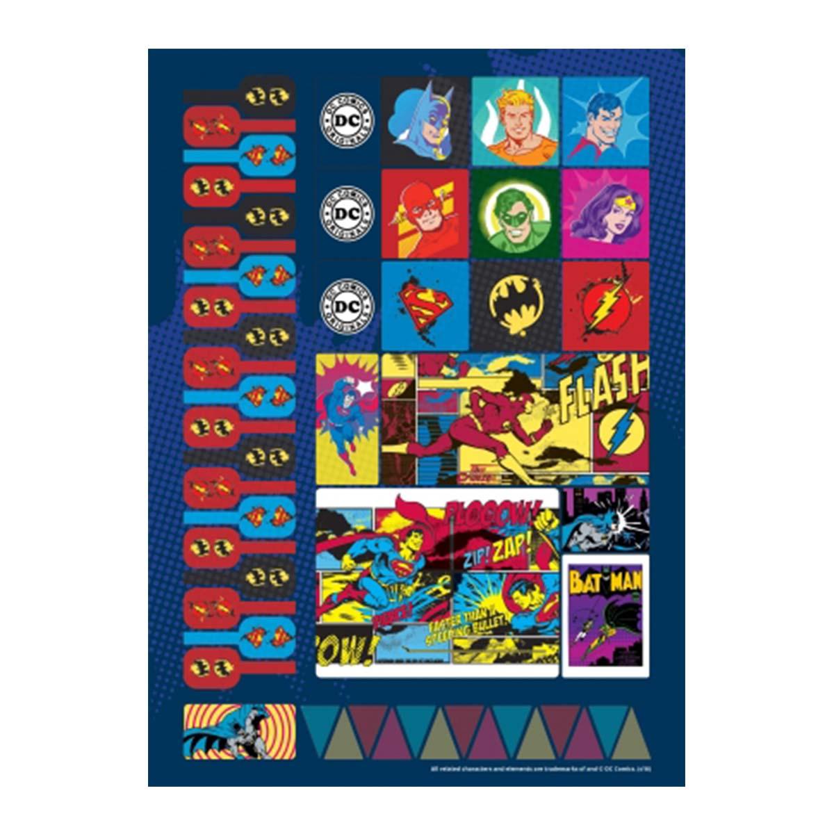 Caderno Batman Logo Retr� 10 Mat�rias