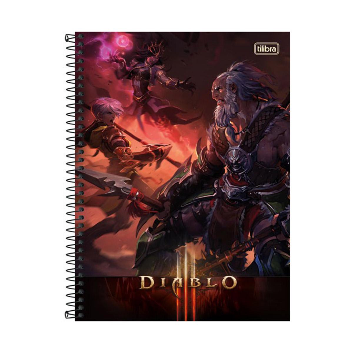 Caderno Diablo Barbaro 1 Mat�ria