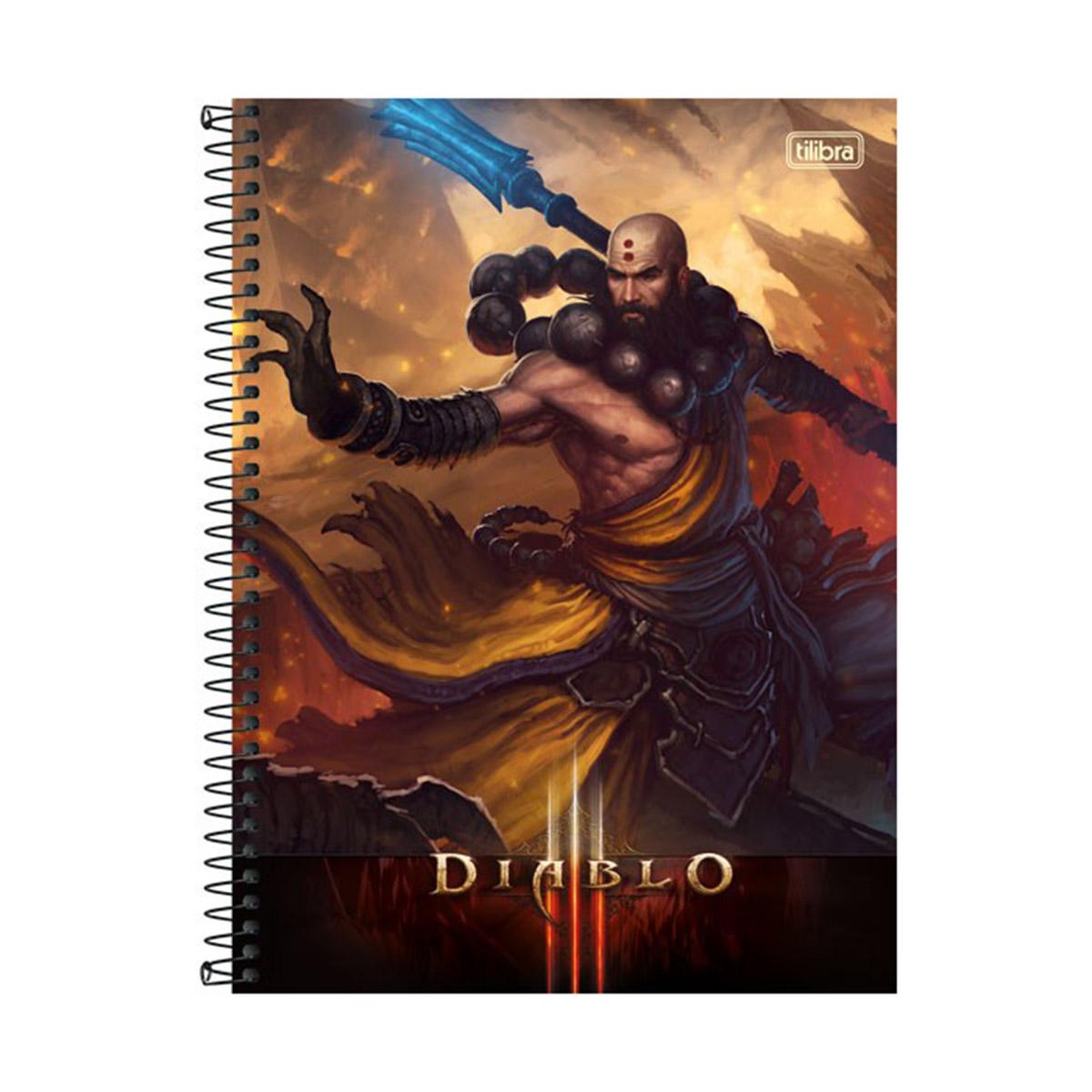 Caderno Diablo Kharazim 1 Mat�ria