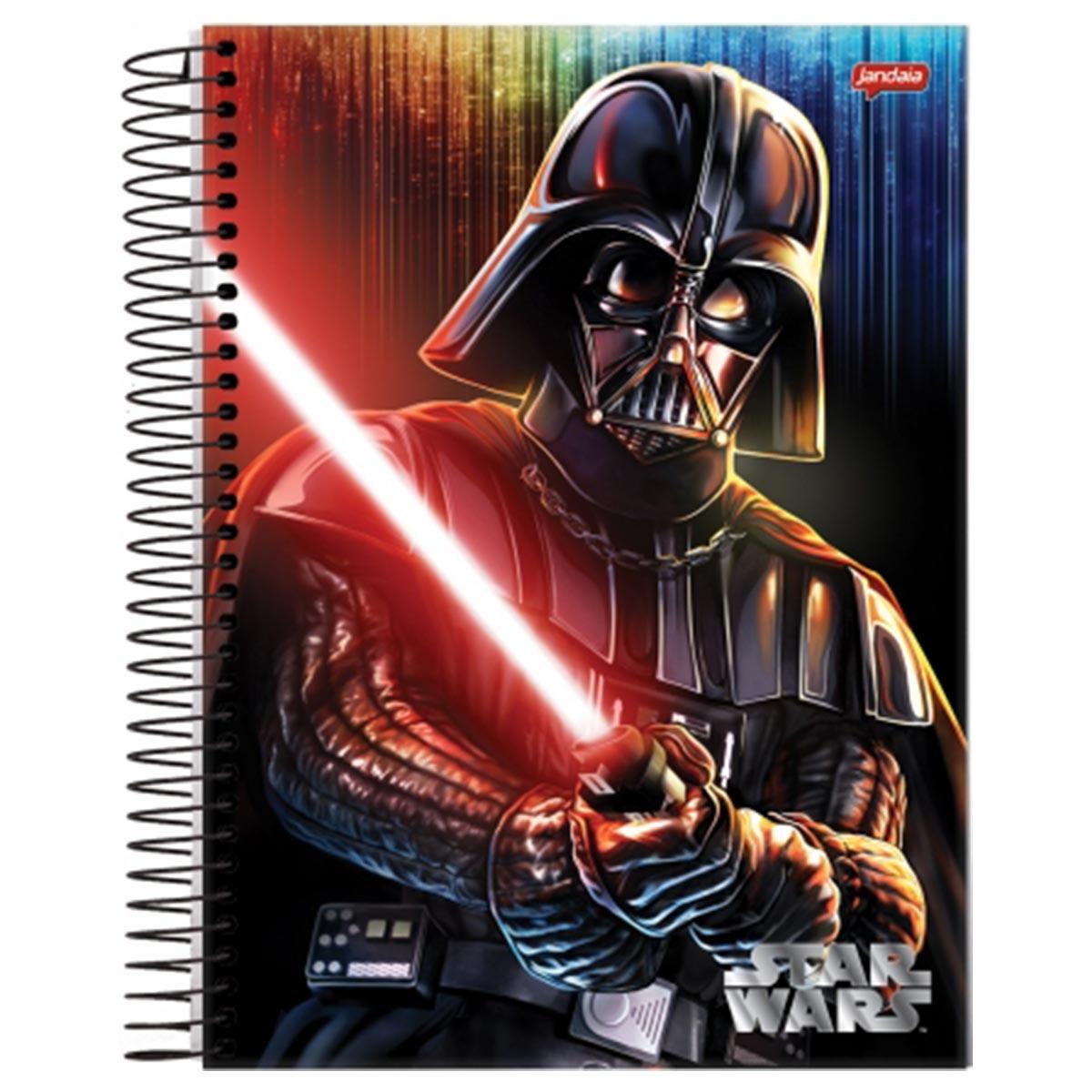 Caderno Star Wars Darth Vader 1 Matéria