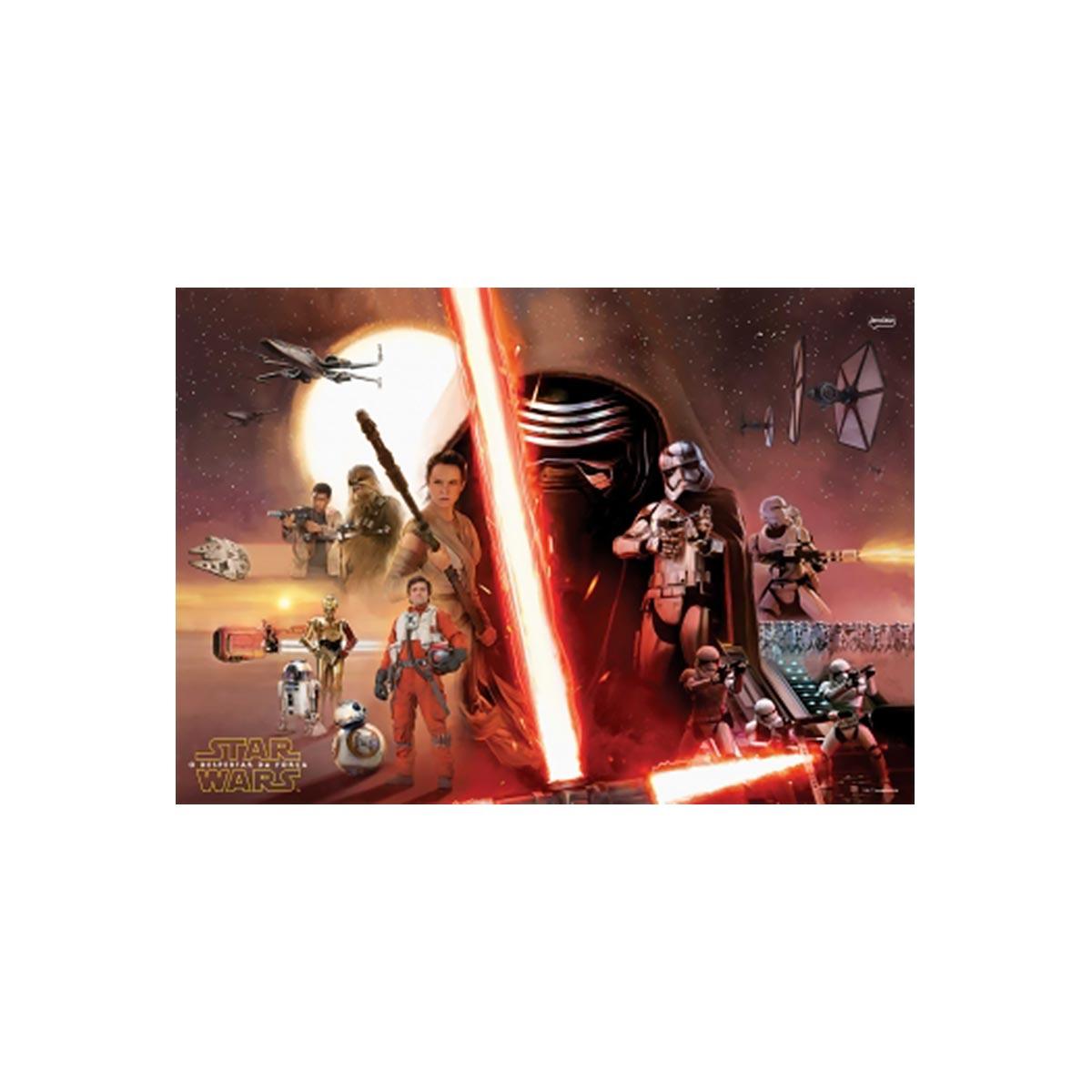 Caderno Star Wars Rey BB8 10 Mat�rias