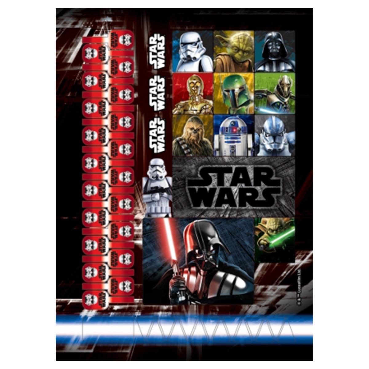 Caderno Star Wars Stormtrooper 1 Matéria