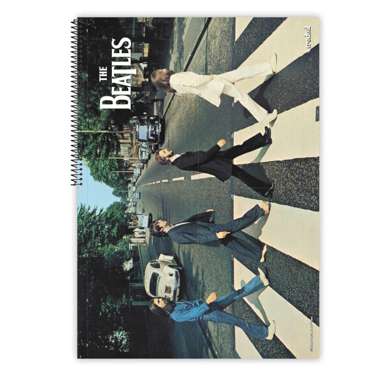 Caderno The Beatles One 10 Mat�rias