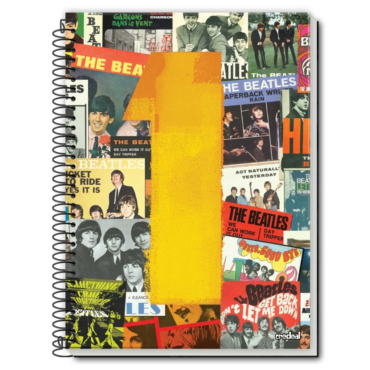 Caderno The Beatles One 1 Matéria