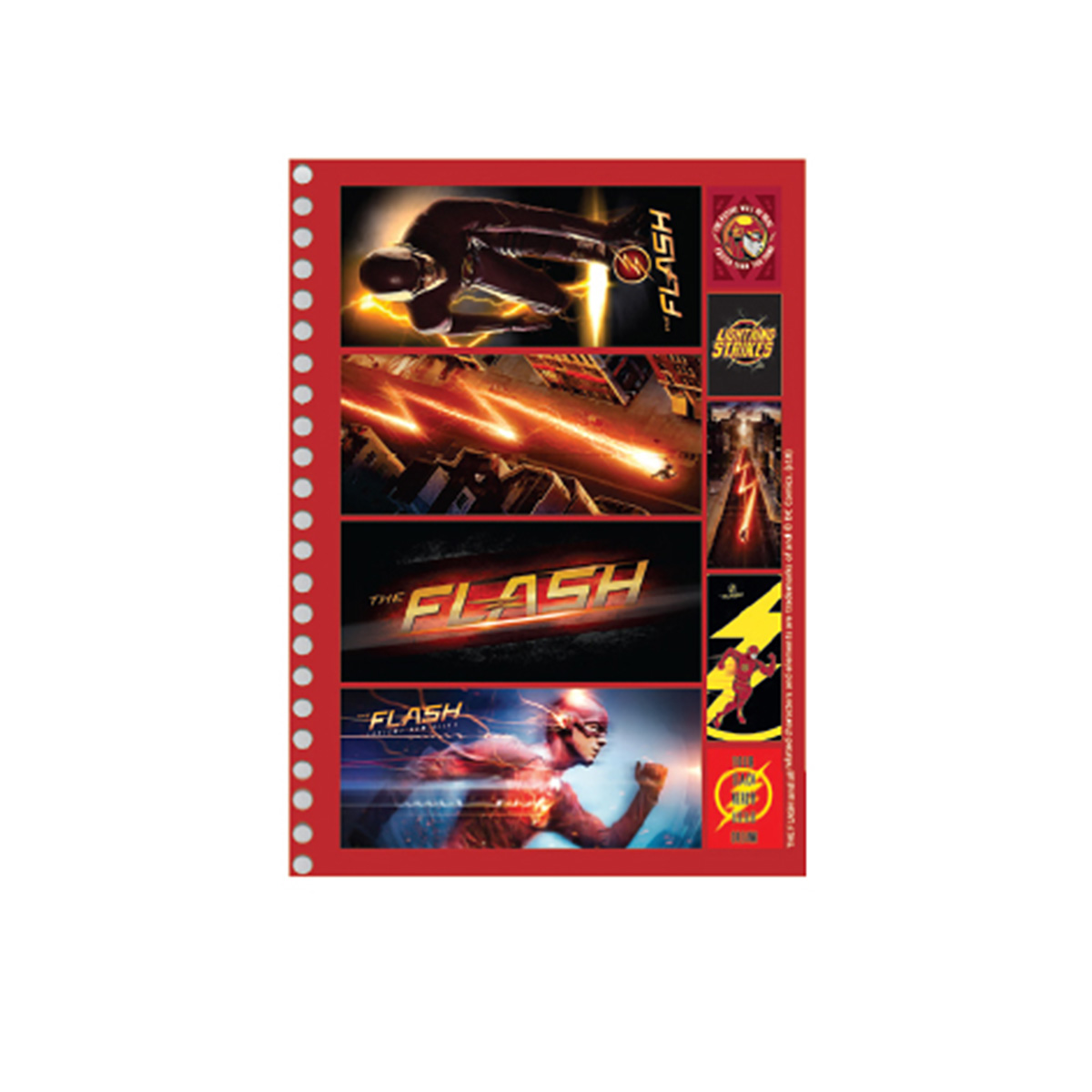 Caderno The Flash Serie Danger 1 Matéria