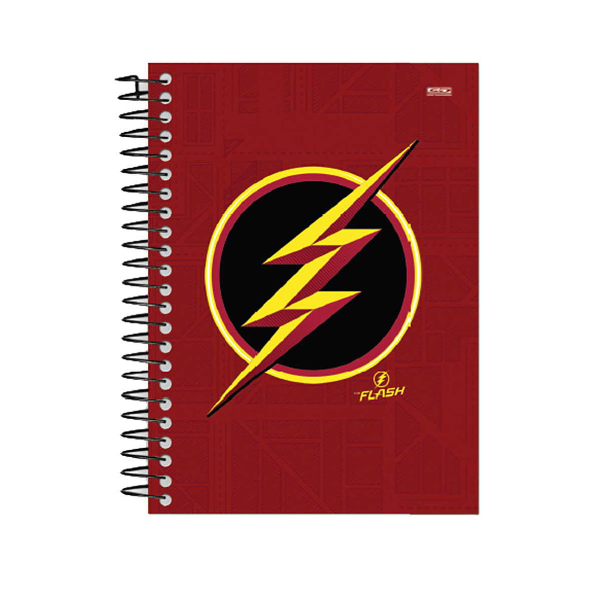 Caderno The Flash Serie Gold 1 Mat�ria