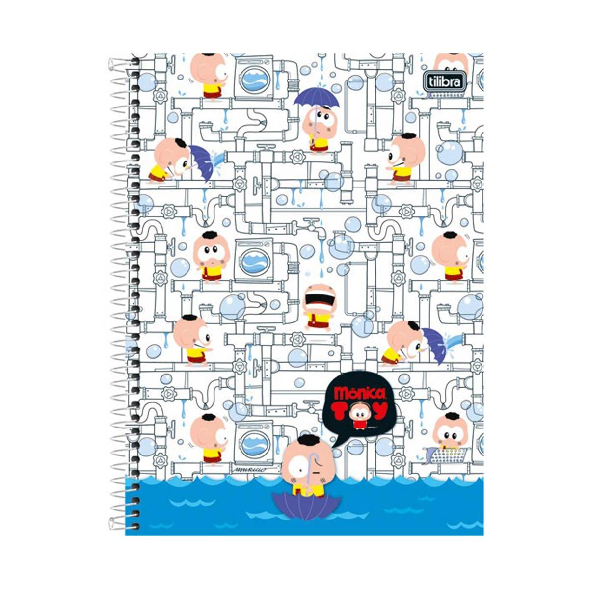 Caderno Turma da M�nica Casc�o Encanamento 1 Mat�ria