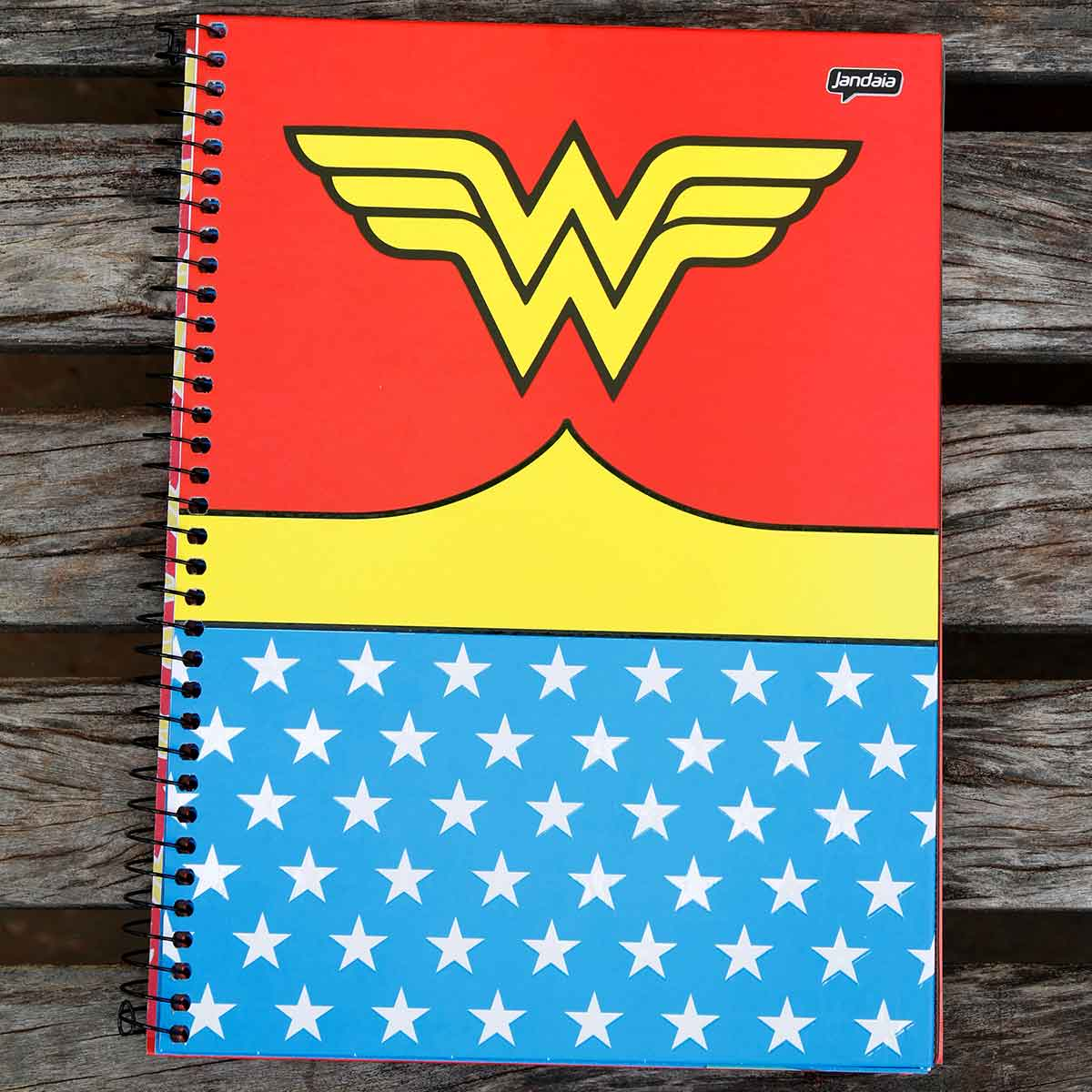 Caderno Wonder Woman Clothes 1 Matéria