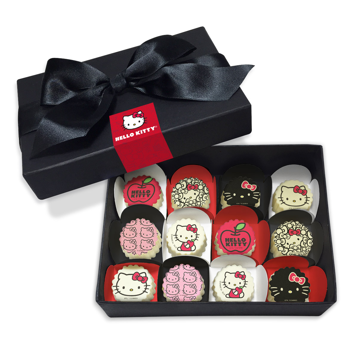 Caixa de Bombons Gourmet Hello Kitty Ribbons