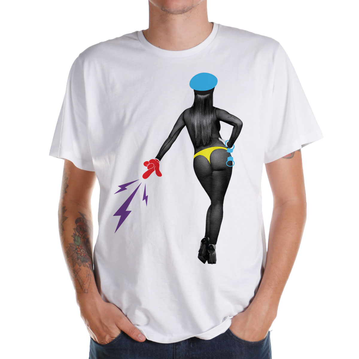 Camiseta Anitta Sem Caô