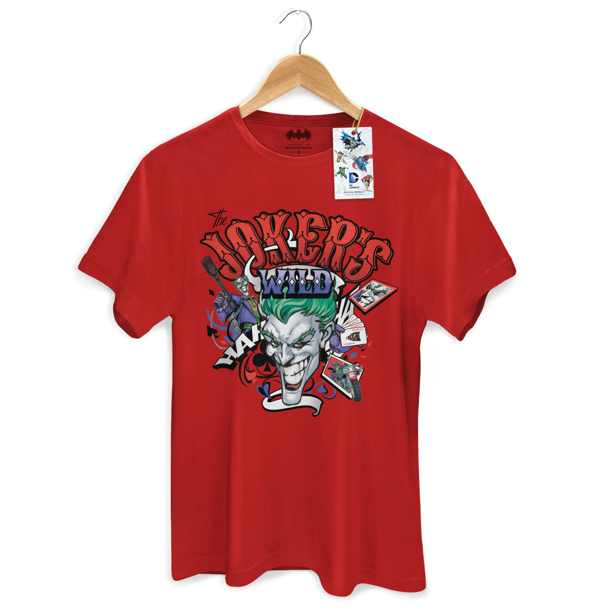 Camiseta DC Comics The Joker Wild