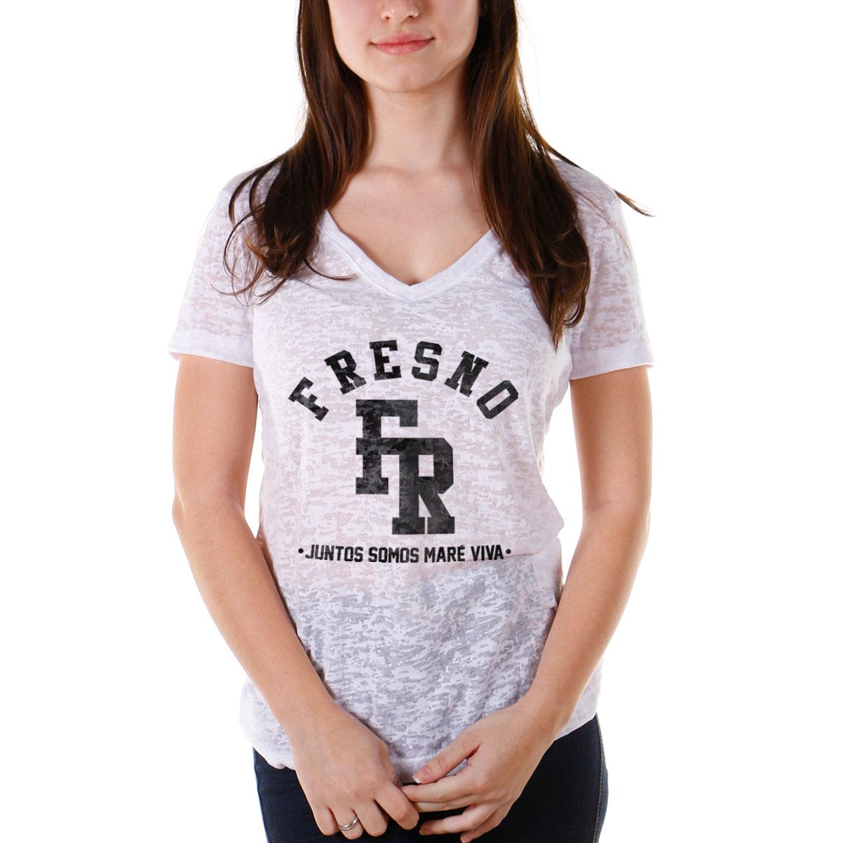 Camiseta Devorê Feminina Fresno Juntos Somos Maré Viva