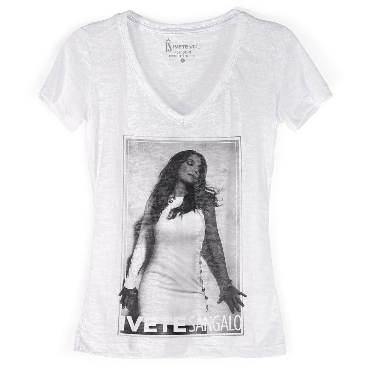 Camiseta Devorê Feminina Ivete Sangalo Musa