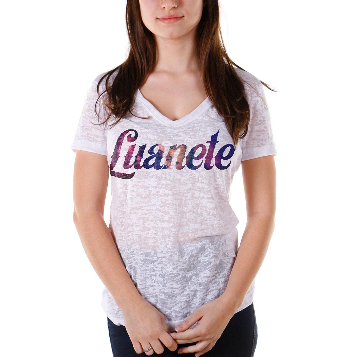 Camiseta Devor� Feminina Luan Santana Luanete Type