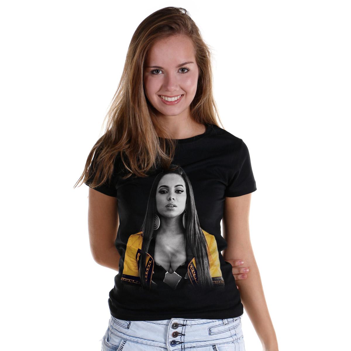 Camiseta Feminina Anitta Foto
