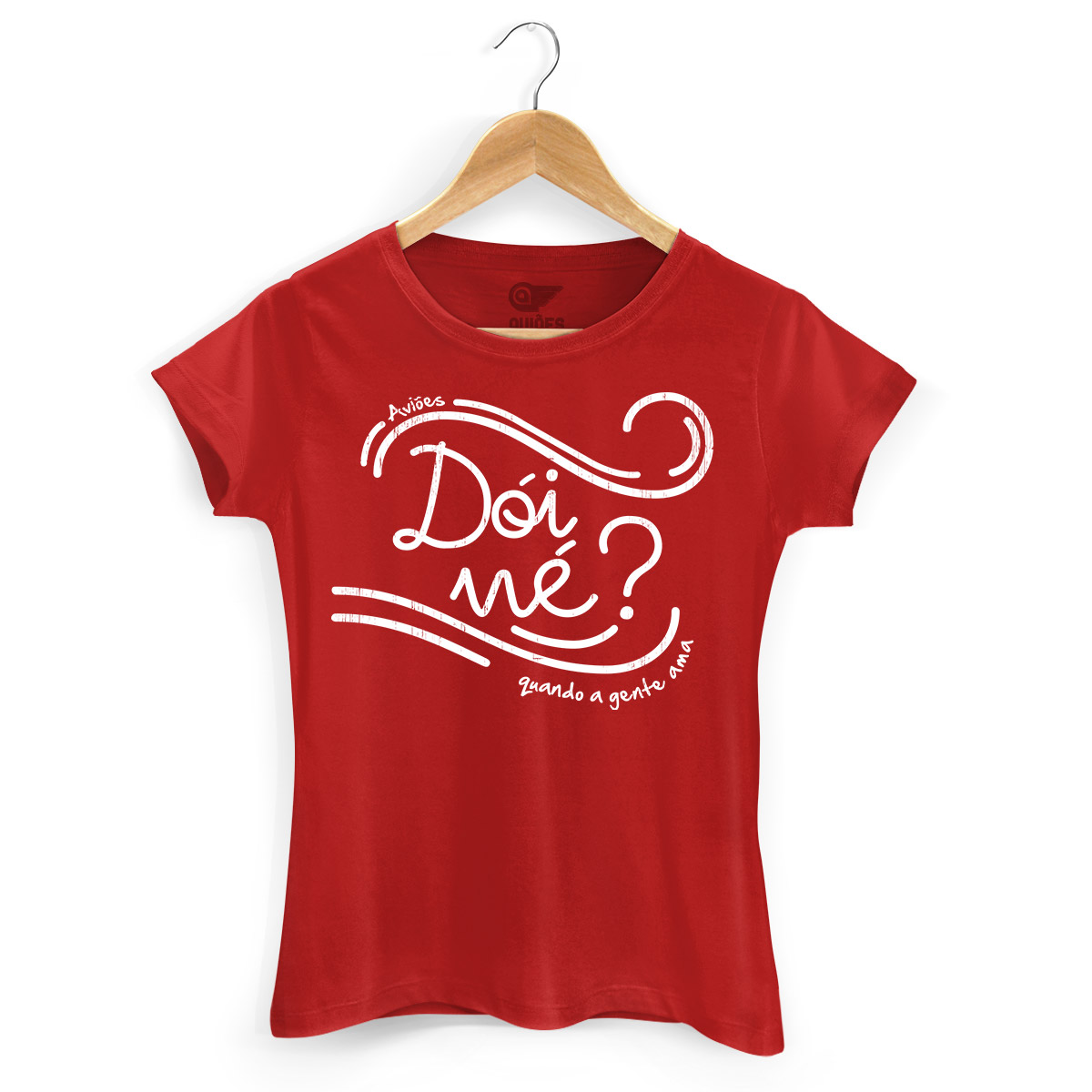 Camiseta Feminina Aviões do Forró Dói Ne?
