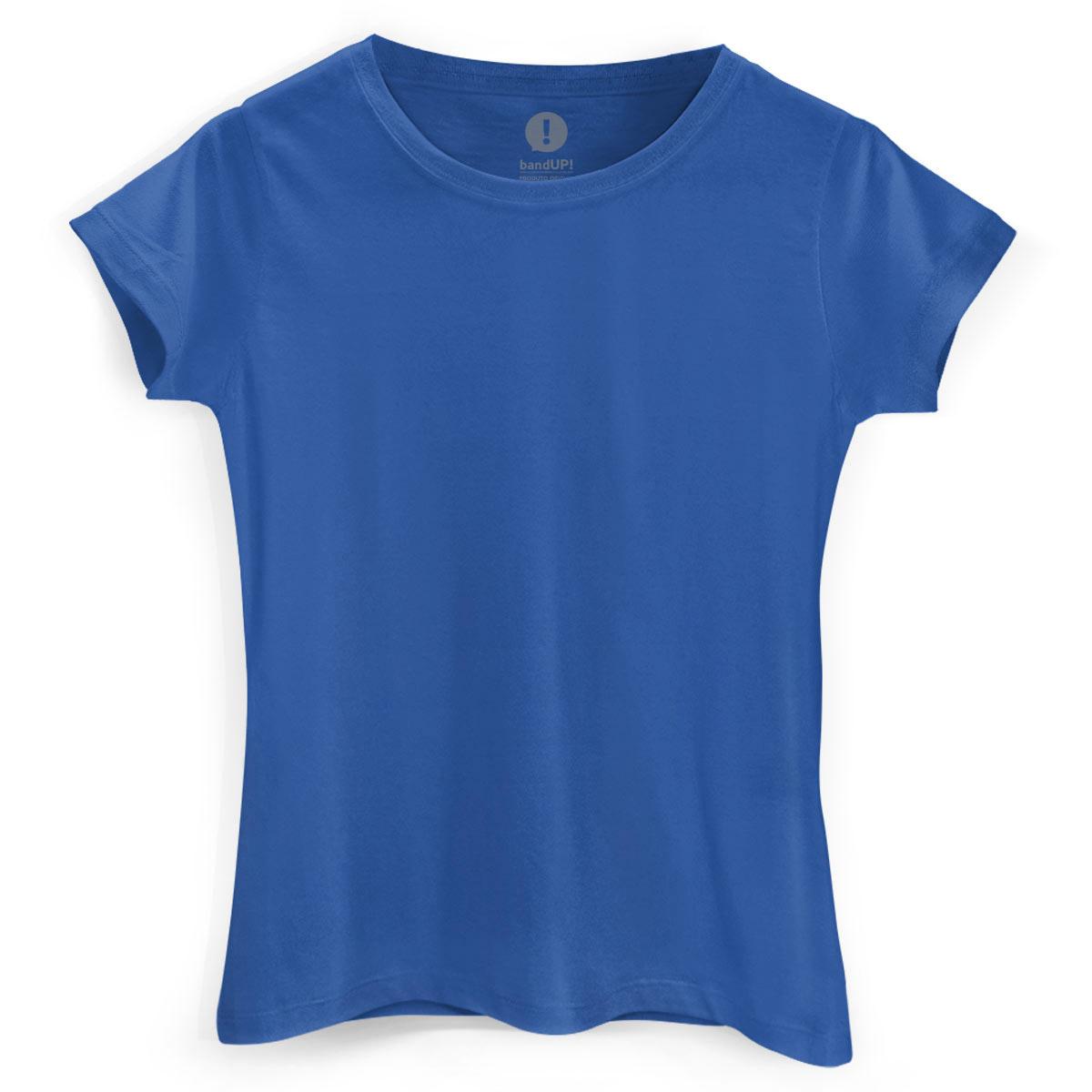 Camiseta Feminina Azul Royal