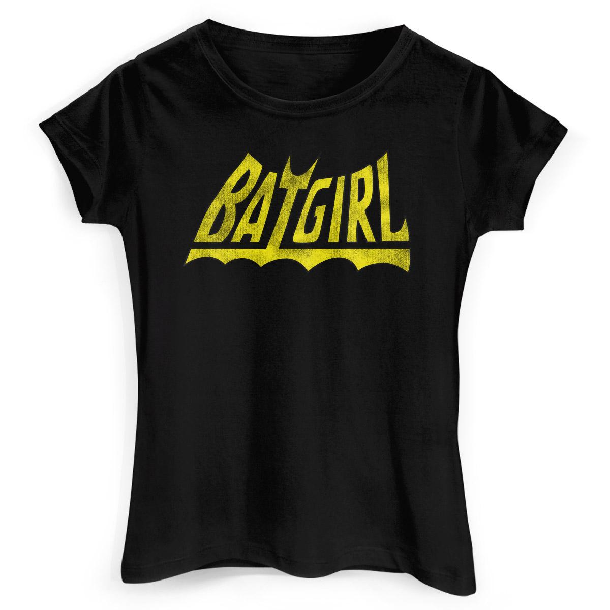 Camiseta Feminina Batgirl Logo