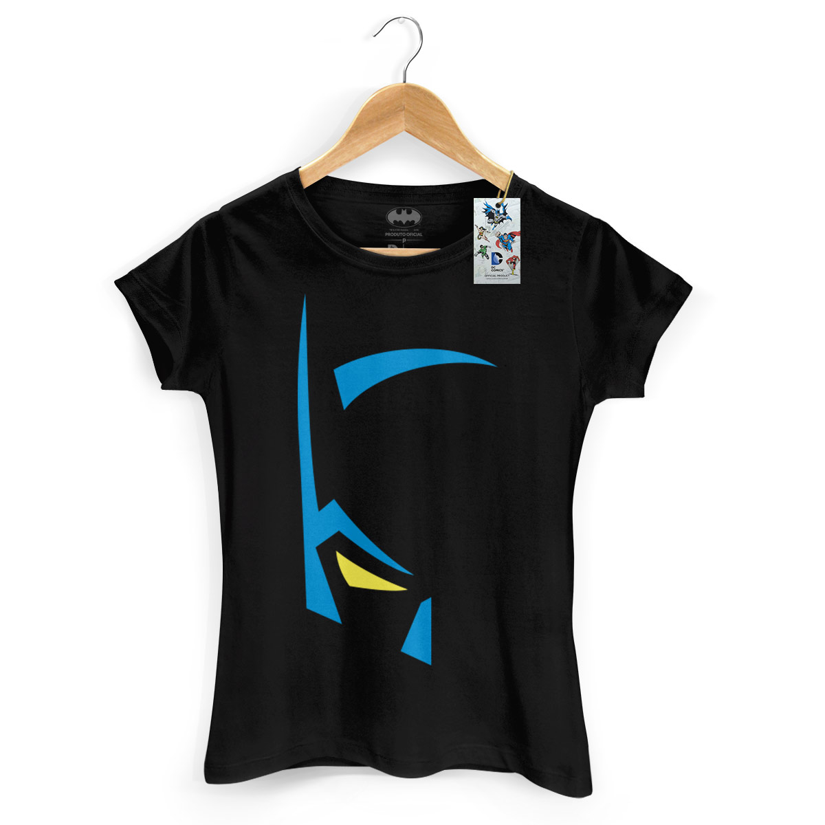 Camiseta Feminina Batman Mask