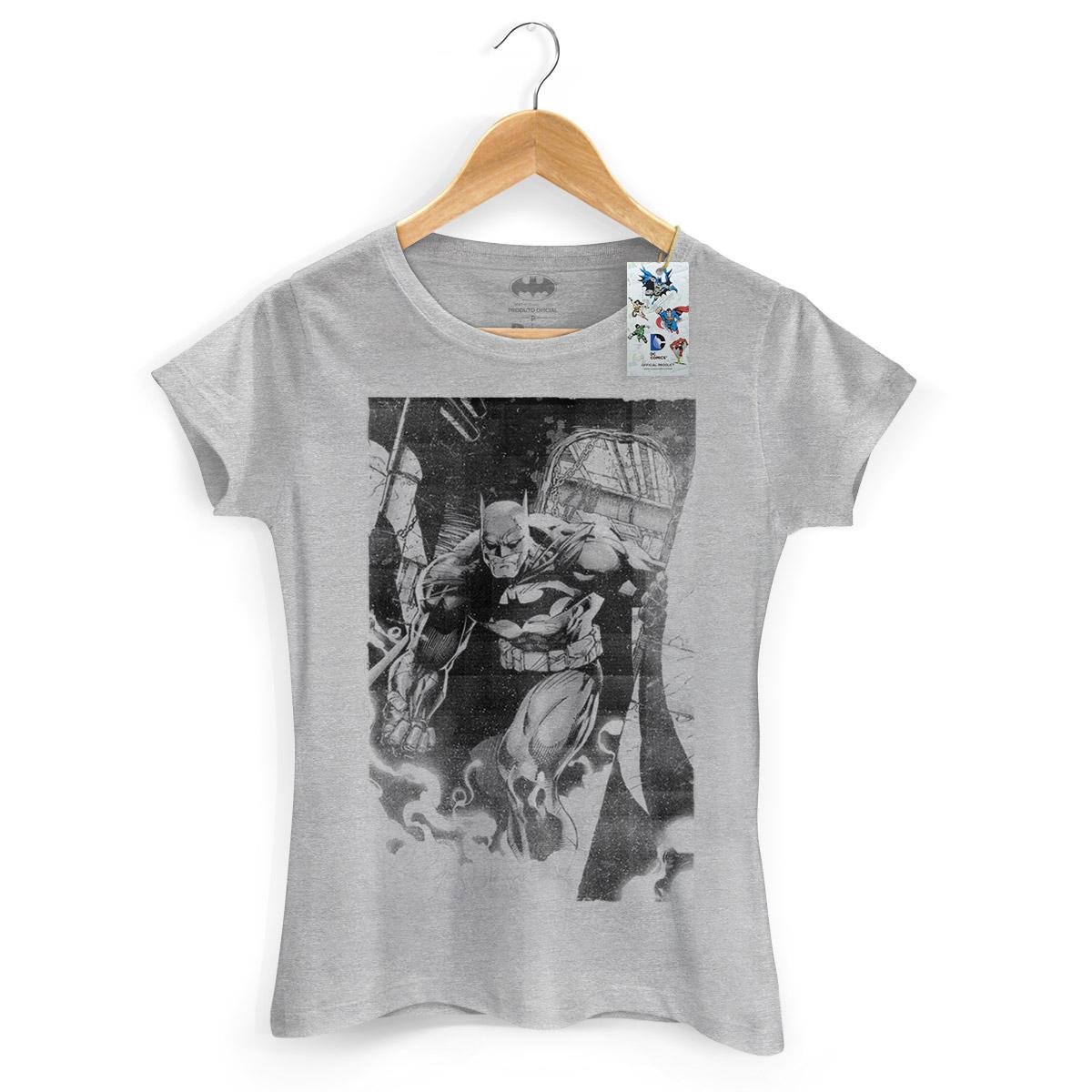 Camiseta Feminina Batman Tracing