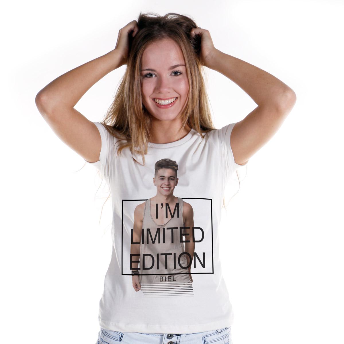 Camiseta Feminina Biel I´m Limited Edition