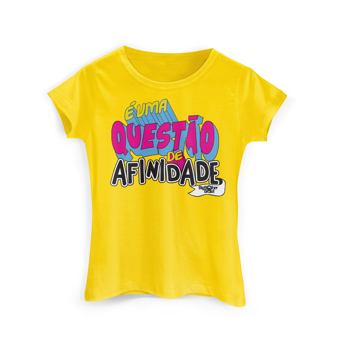 Camiseta Feminina Big Brother Brasil 15 Afinidade Modelo 2