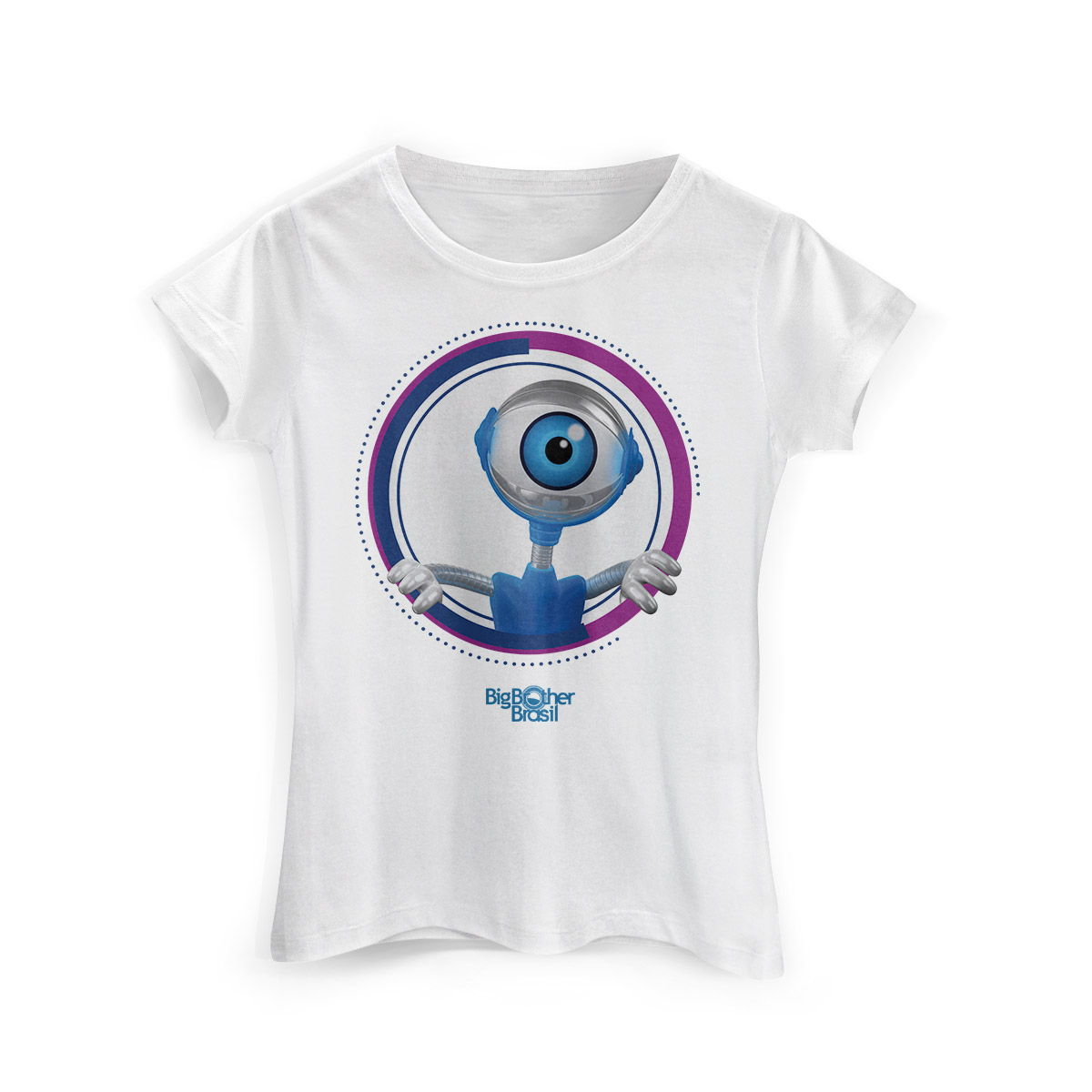 Camiseta Feminina Big Brother Brasil 15 Espiadinha do RoBBB Modelo 2