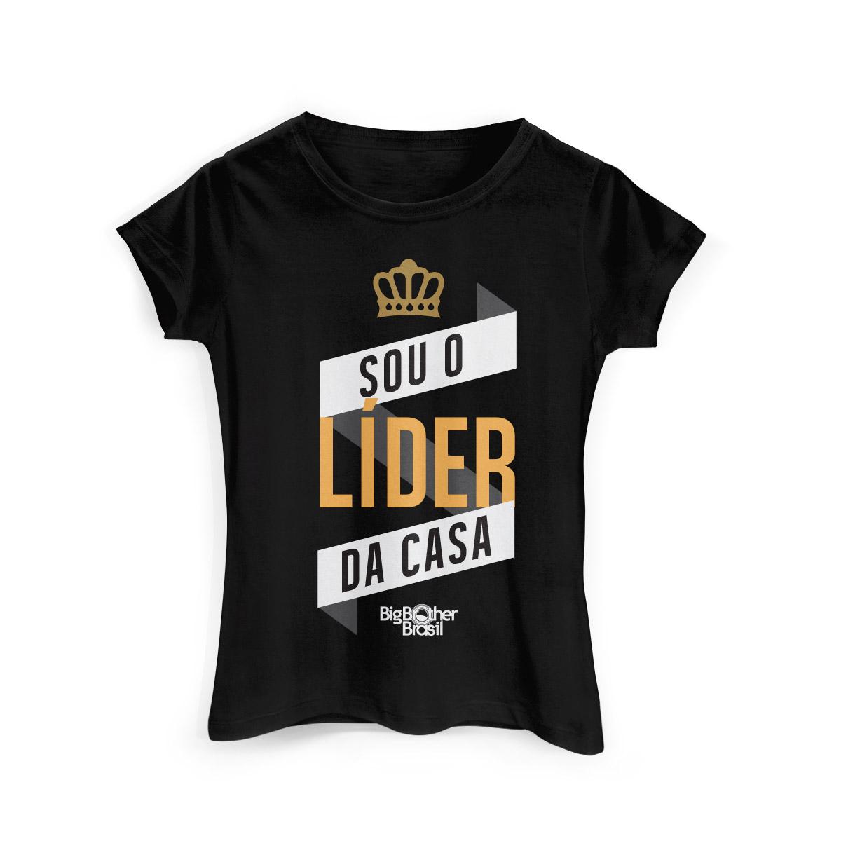 Camiseta Feminina Big Brother Brasil 15 Líder da Casa