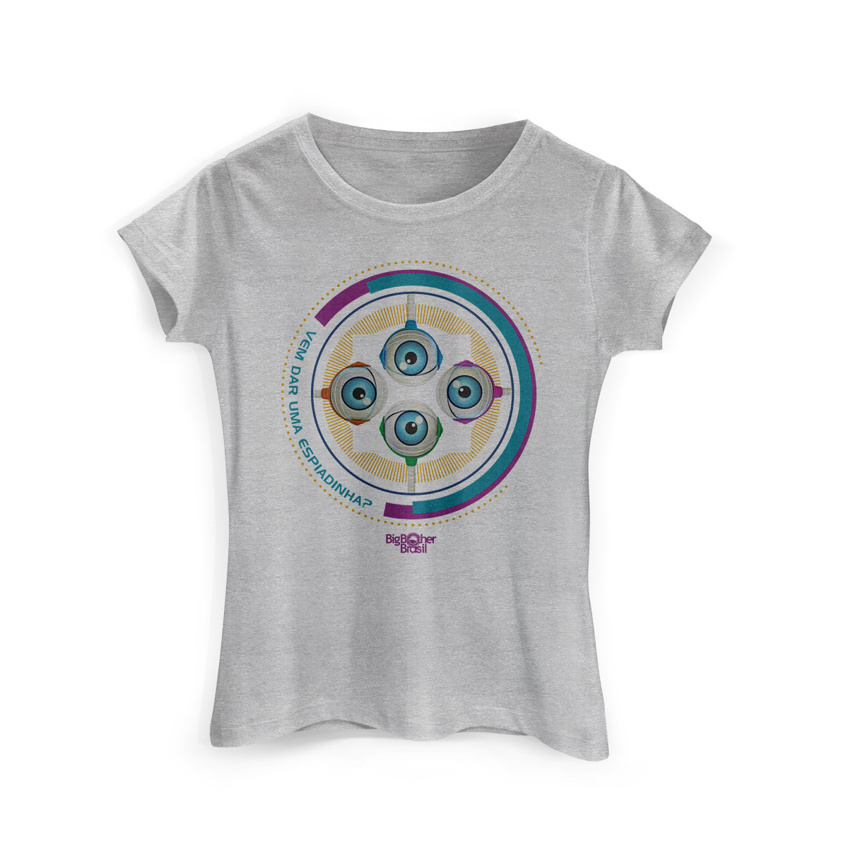 Camiseta Feminina Big Brother Brasil 15 RoBBB Cores
