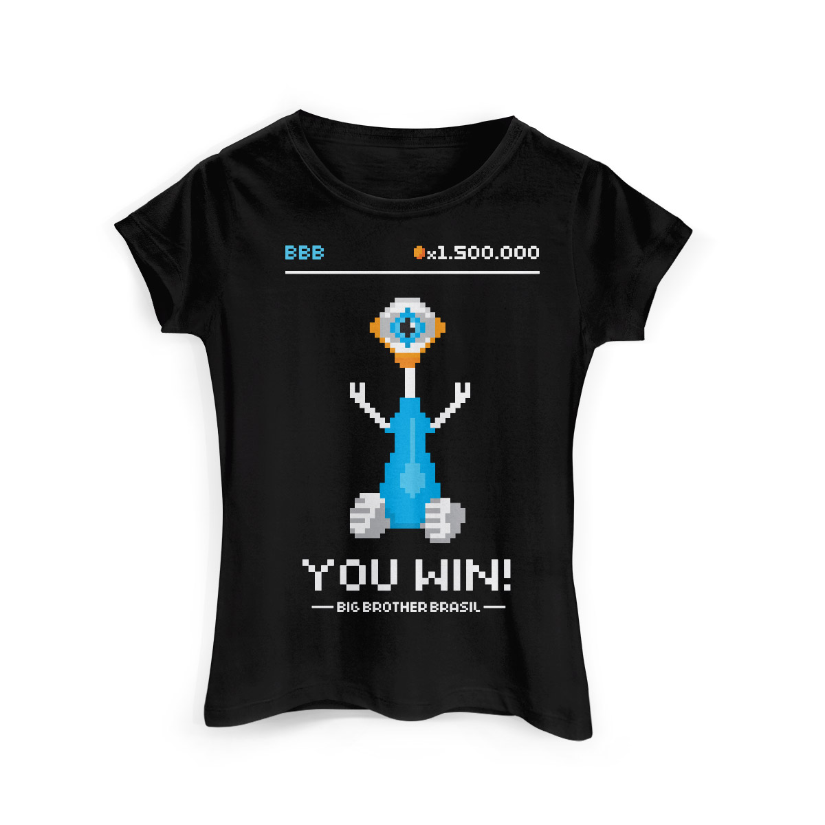 Camiseta Feminina Big Brother Brasil 15 You Win