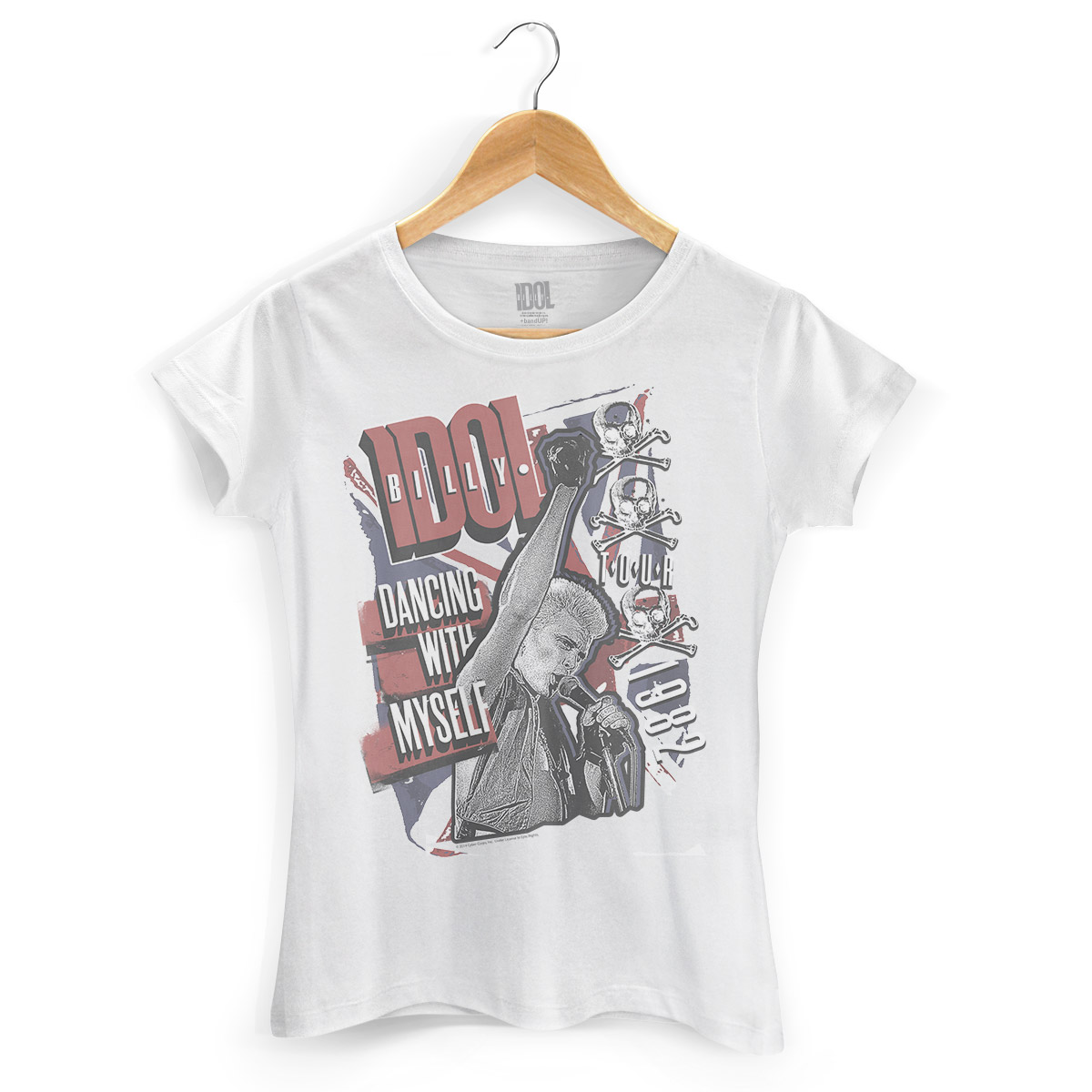 Camiseta Feminina Billy Idol Dancing With Myself
