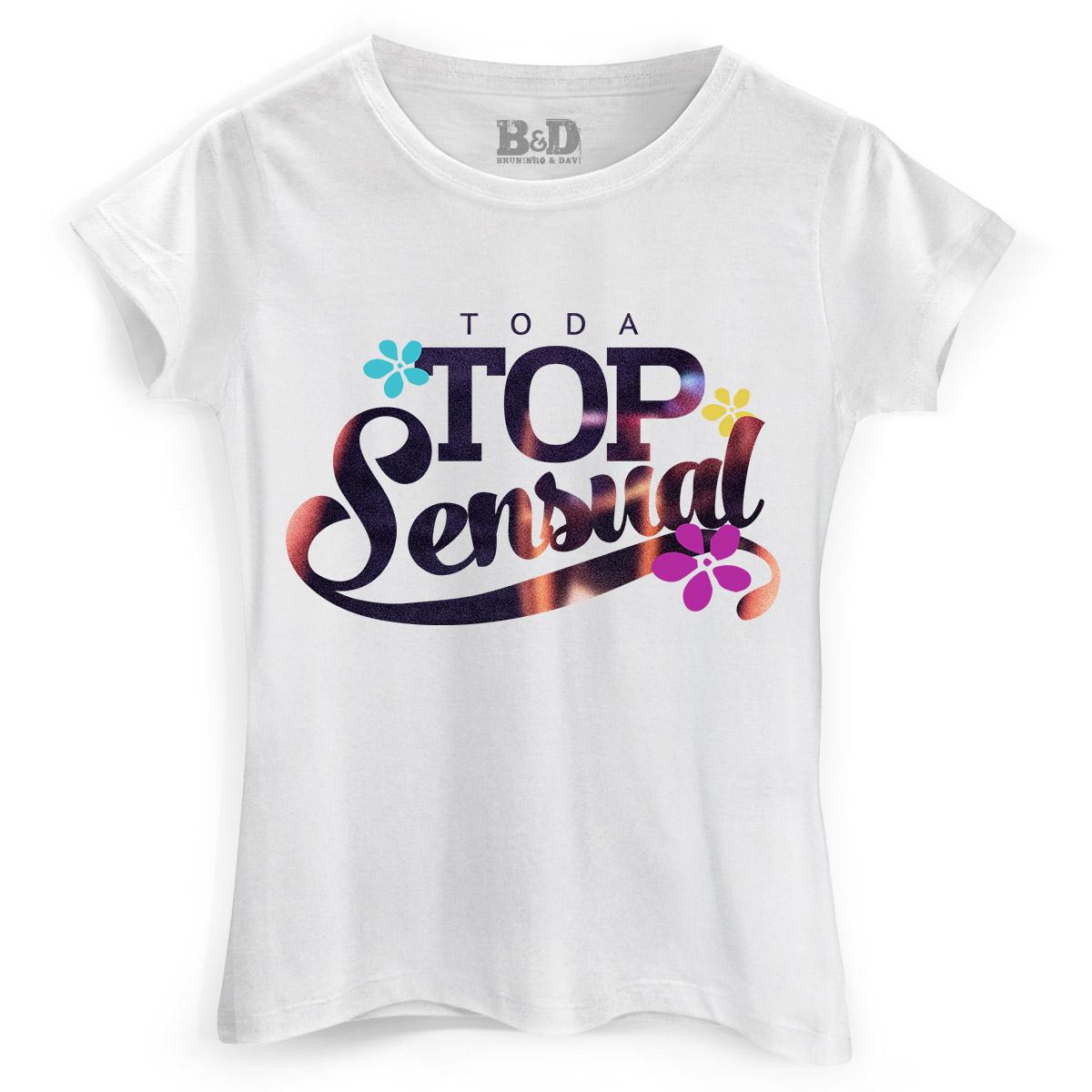 Camiseta Feminina Bruninho & Davi Top Sensual