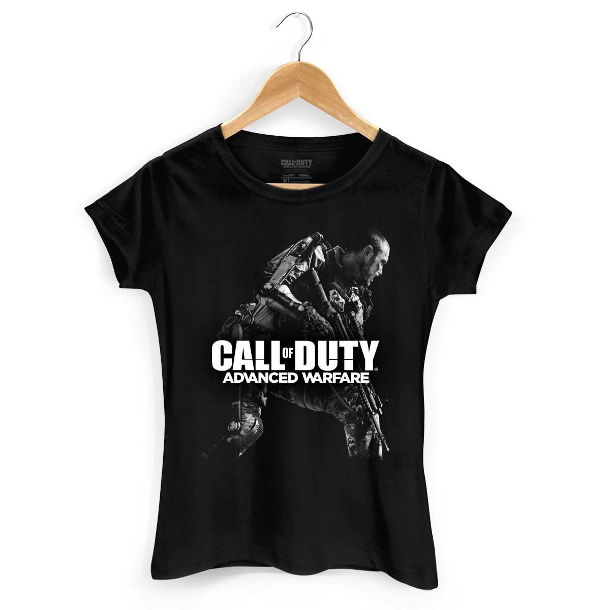 Camiseta Feminina Call Of Duty Shadow Soldier