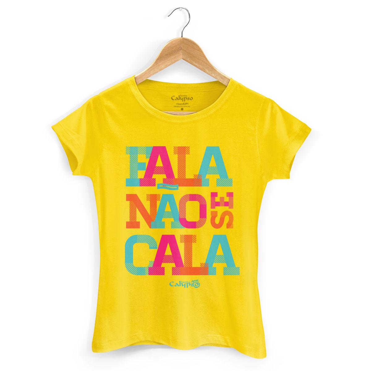 Camiseta Feminina Calypso Fala Não Se Cala