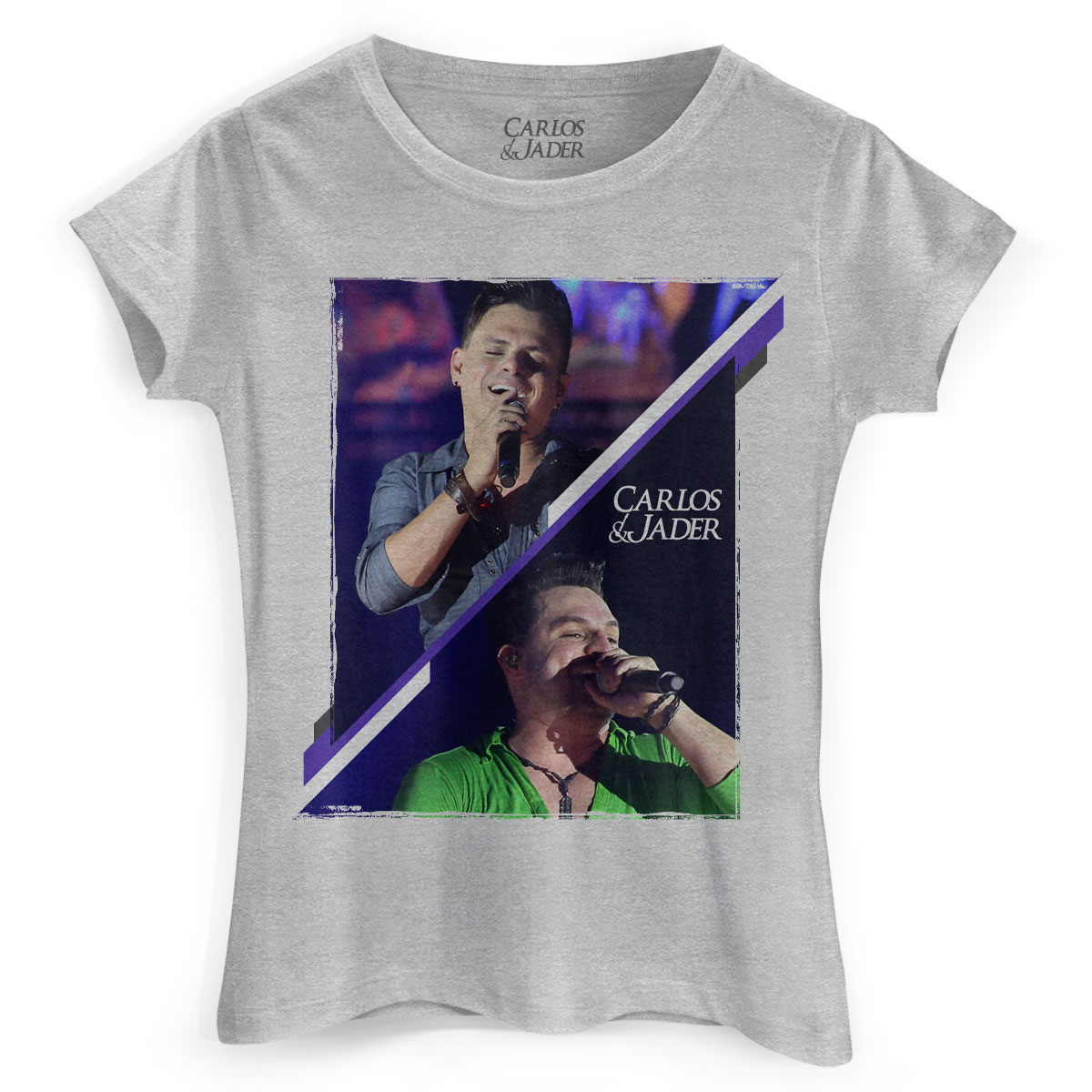 Camiseta Feminina Carlos & Jader Show
