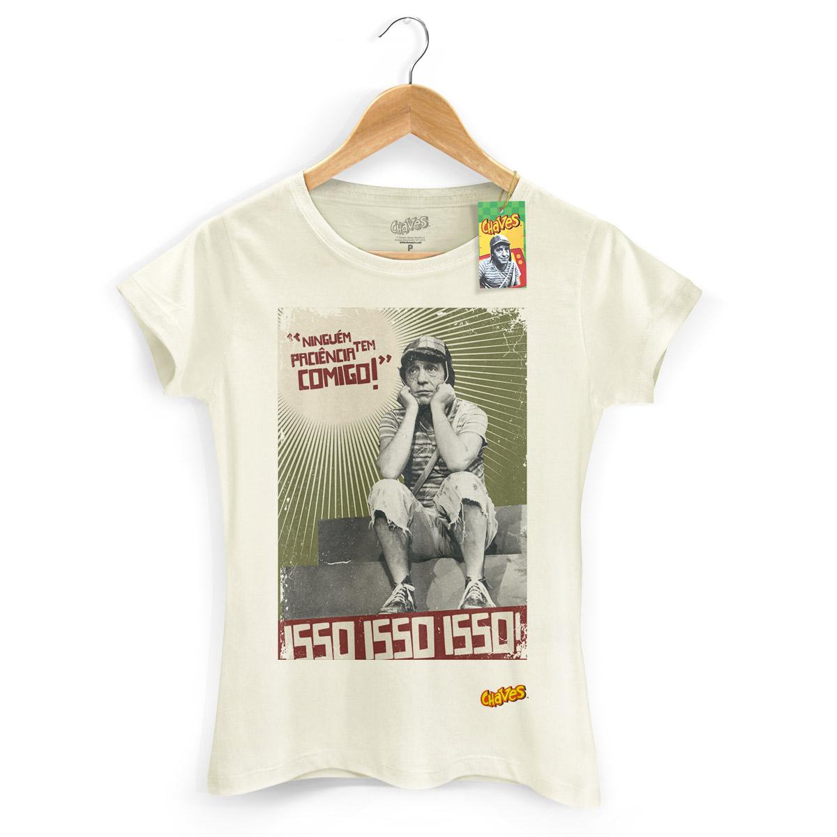 Camiseta Feminina Chaves Ninguém Tem Paciência Comigo! 2