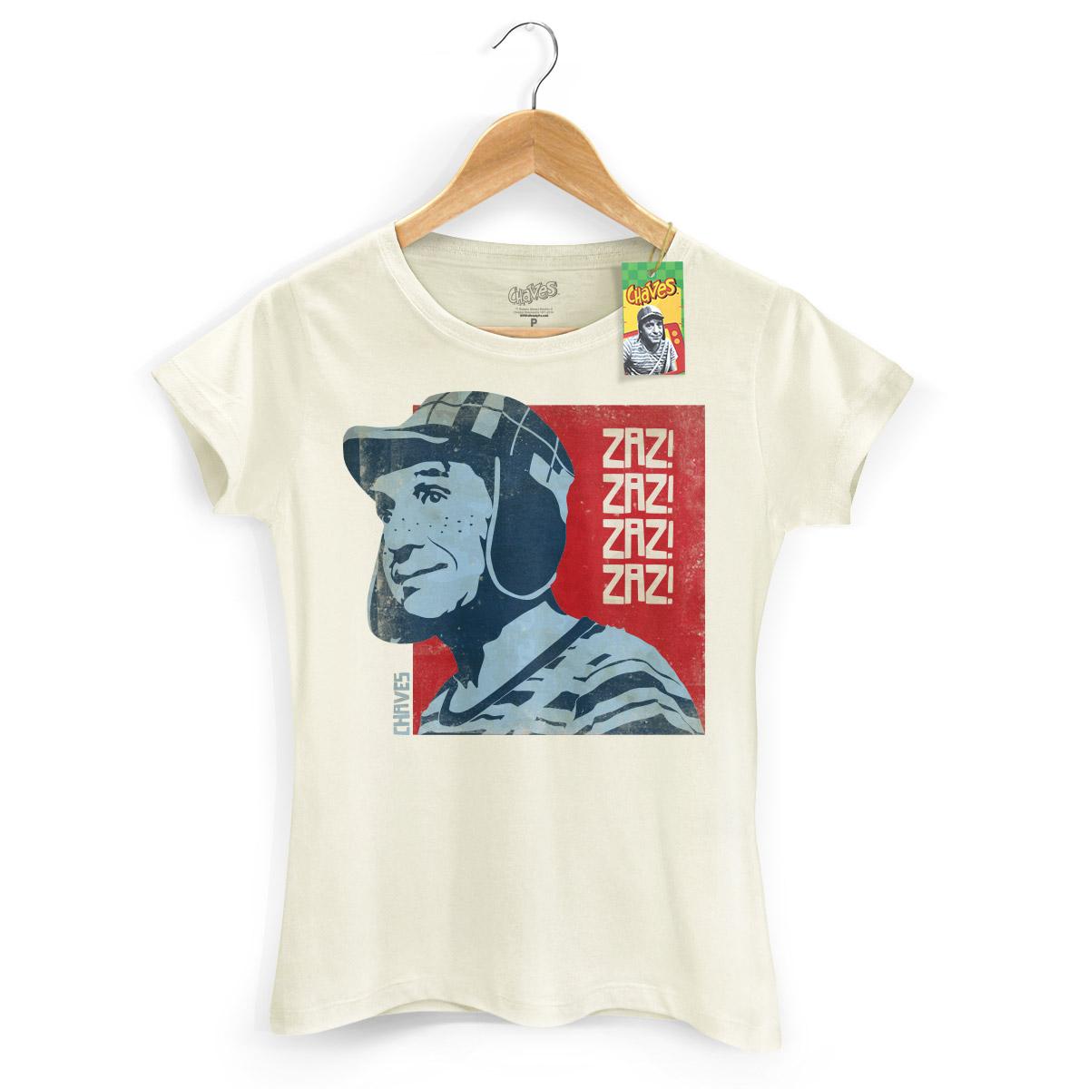 Camiseta Feminina Chaves Zaz! Zaz! Vintage