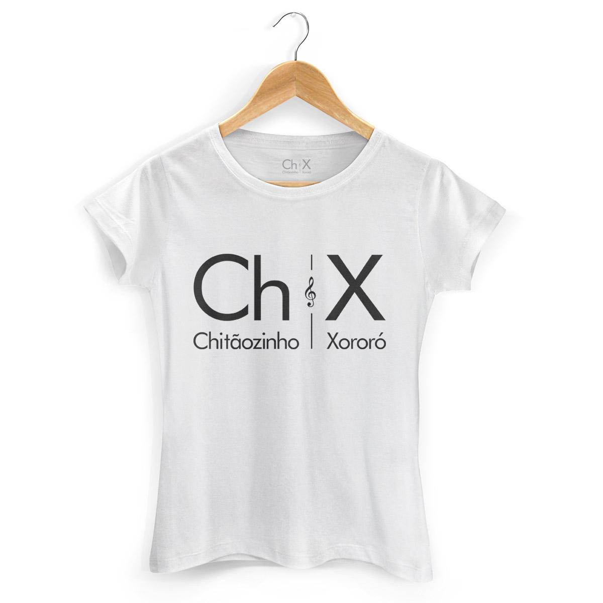 Camiseta Feminina Chit�ozinho & Xoror� Logo