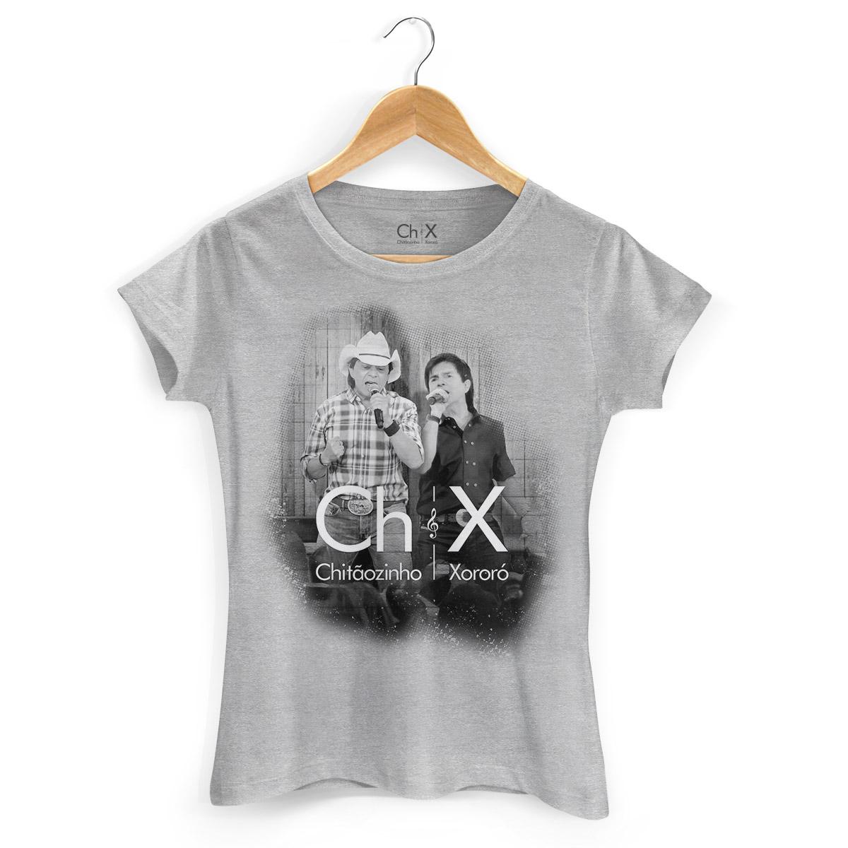 Camiseta Feminina Chit�ozinho & Xoror� Tom do Sert�o