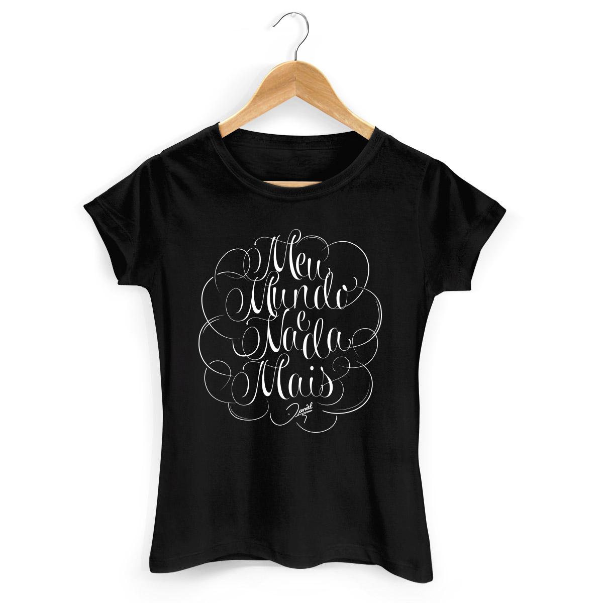 Camiseta Feminina Daniel Meu Mundo Type