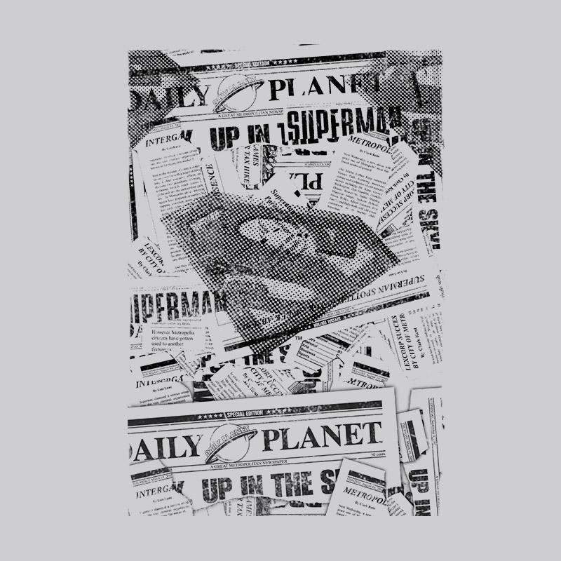 Camiseta Feminina DC Comics Superman Planeta Diário