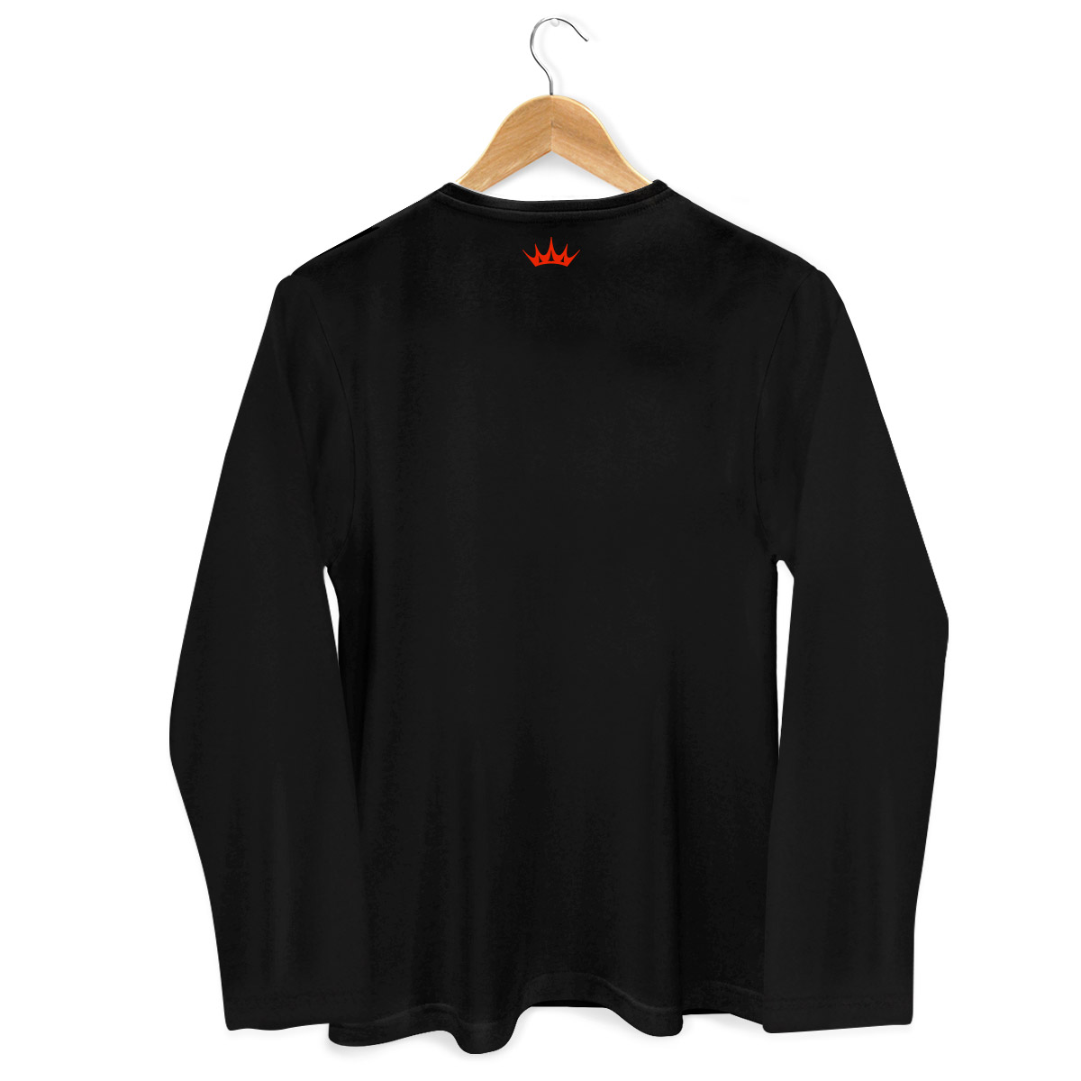 Camiseta Feminina de Manga Longa Ivete Sangalo Piscadela Black