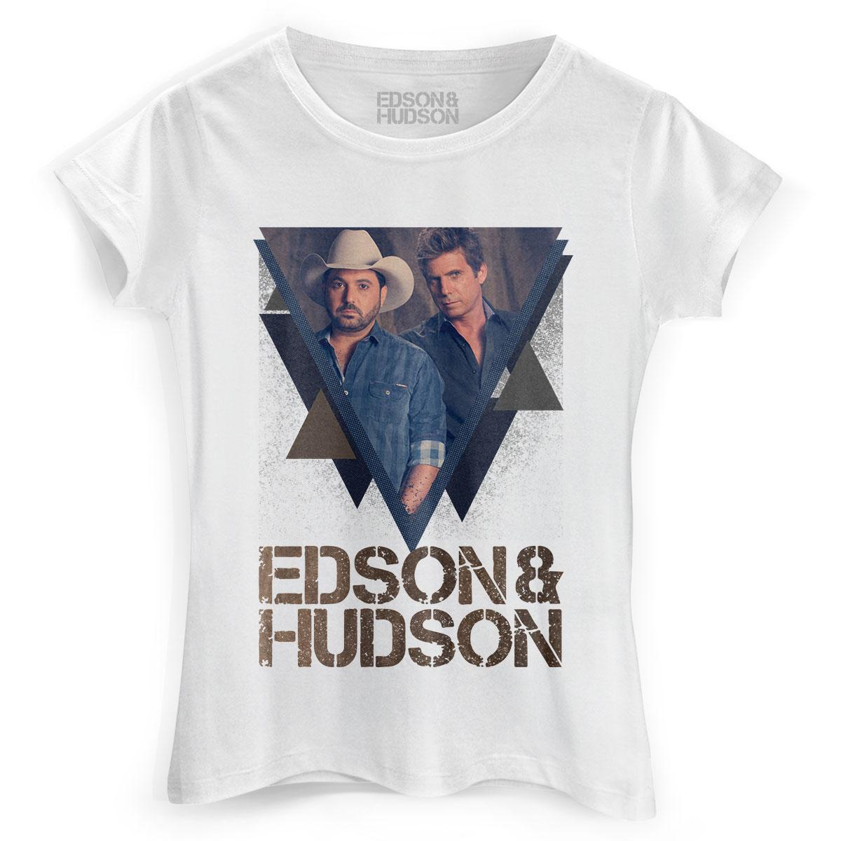 Camiseta Feminina Edson & Hudson Foto Tri�ngulo