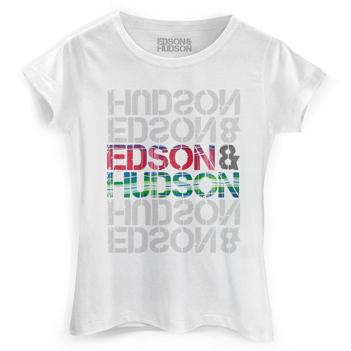 Camiseta Feminina Edson & Hudson Type