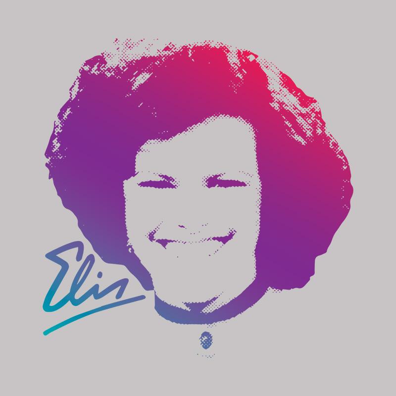 Camiseta Feminina Elis Regina M�sica