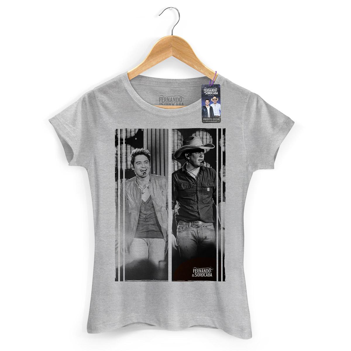 Camiseta Feminina Fernando & Sorocaba Foto