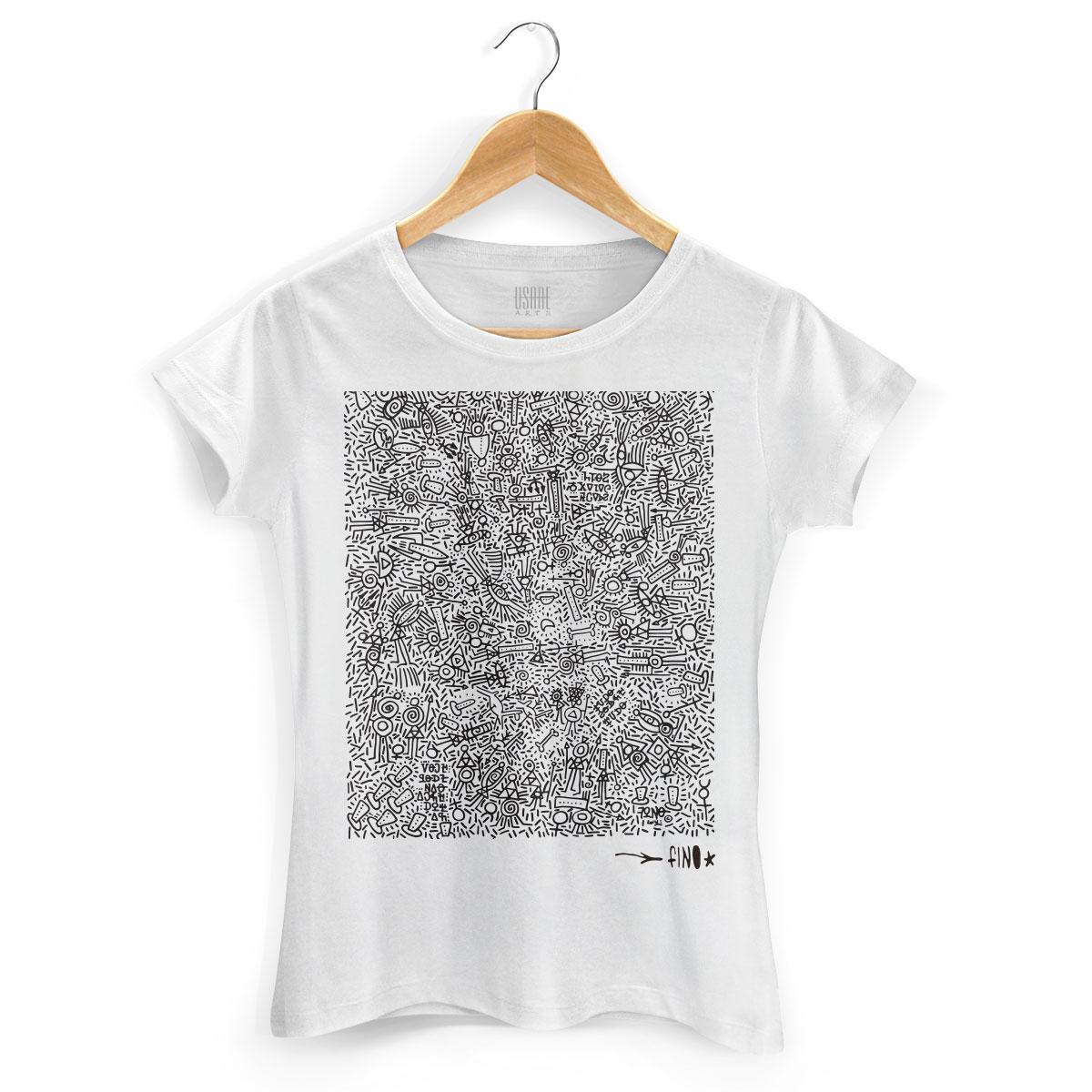 Camiseta Feminina Fino Farofa de Religião