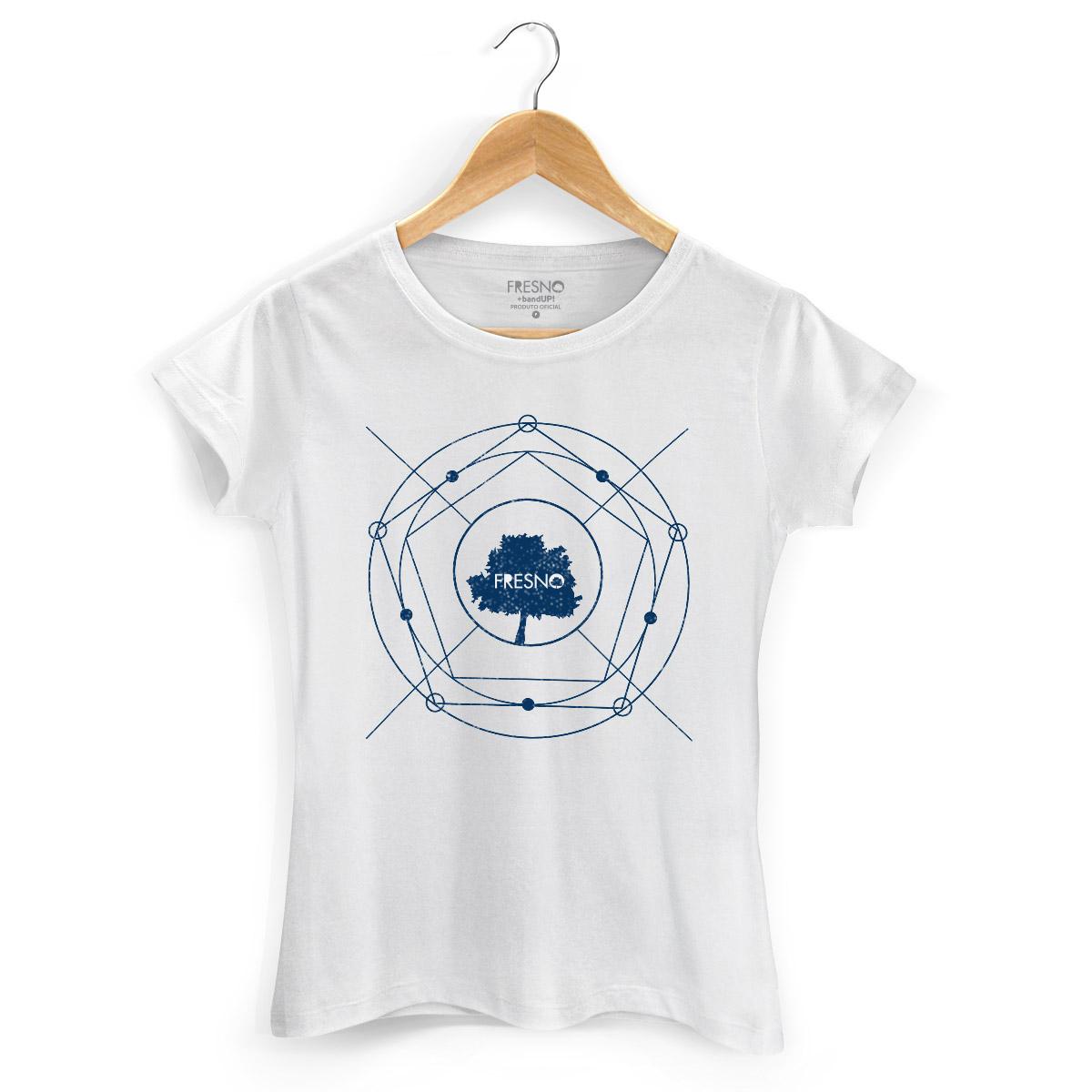 Camiseta Feminina Fresno Árvore Diagrama
