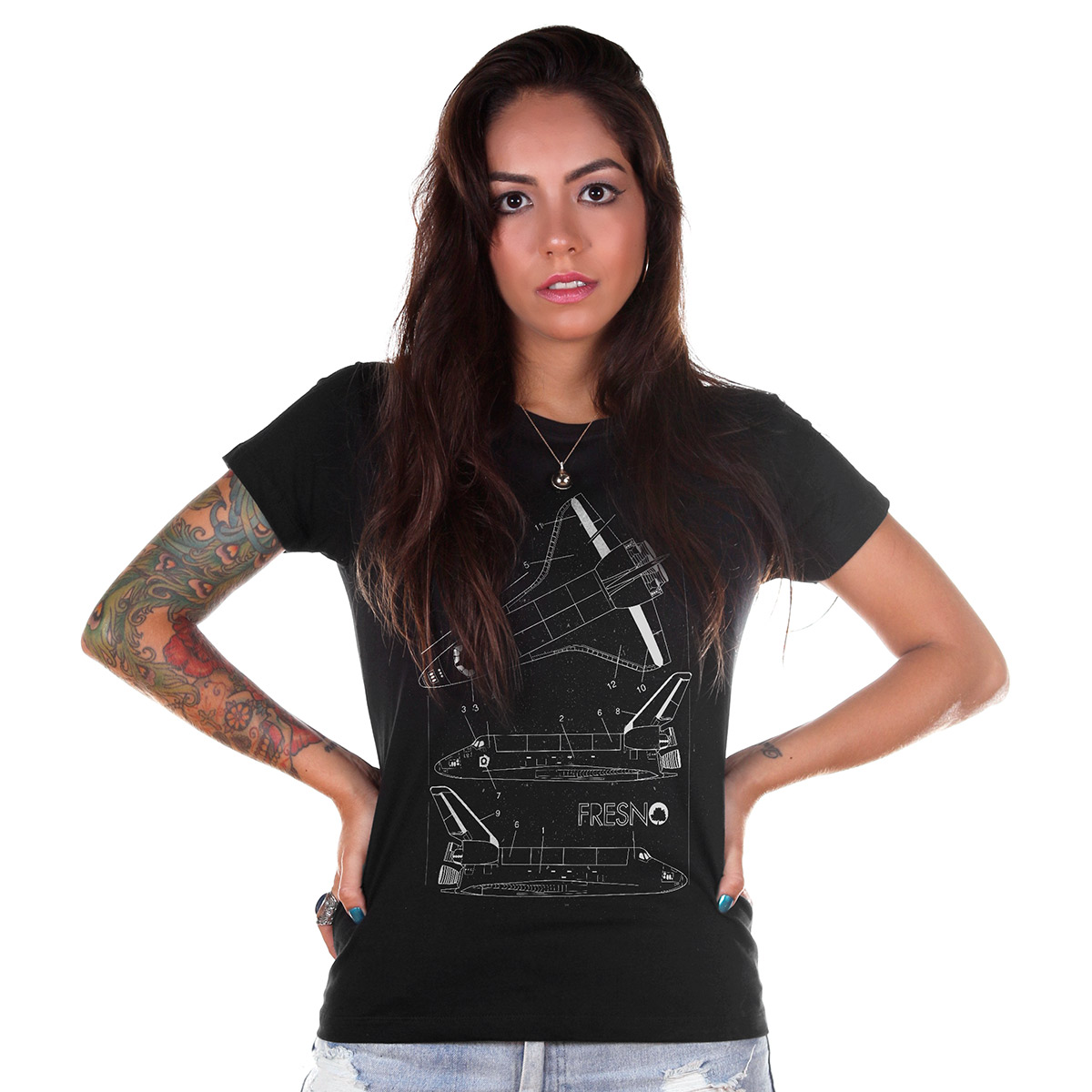 Camiseta Feminina Fresno Shuttles