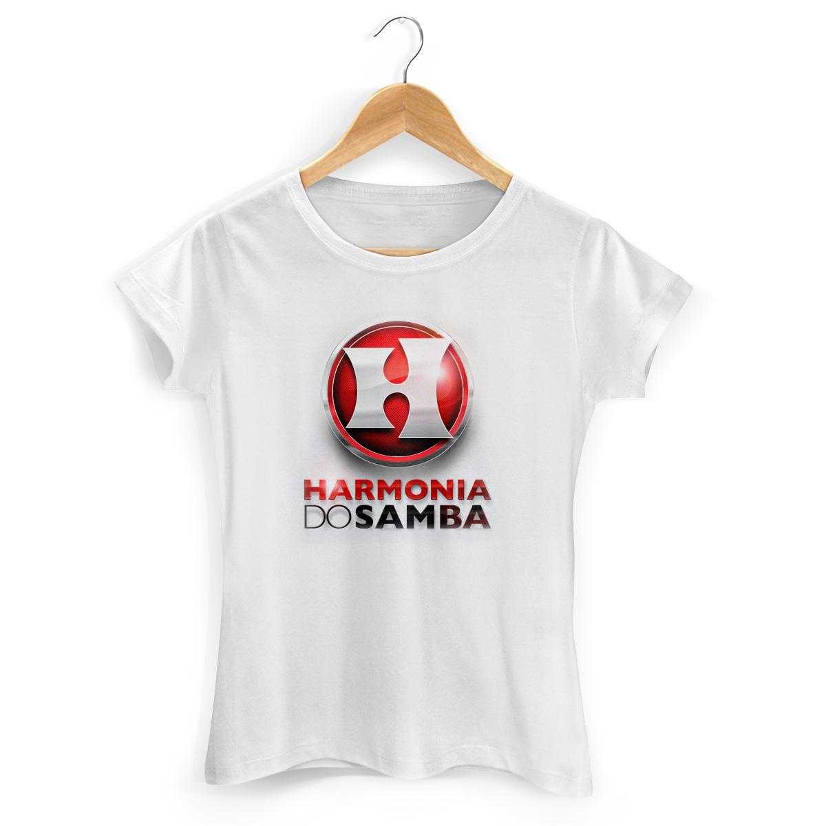 Camiseta Feminina Harmonia Do Samba Logo